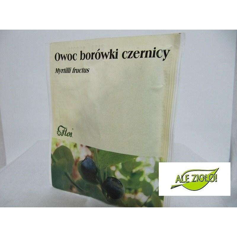 Owoc borówki czernicy (Myrtilli fructus)