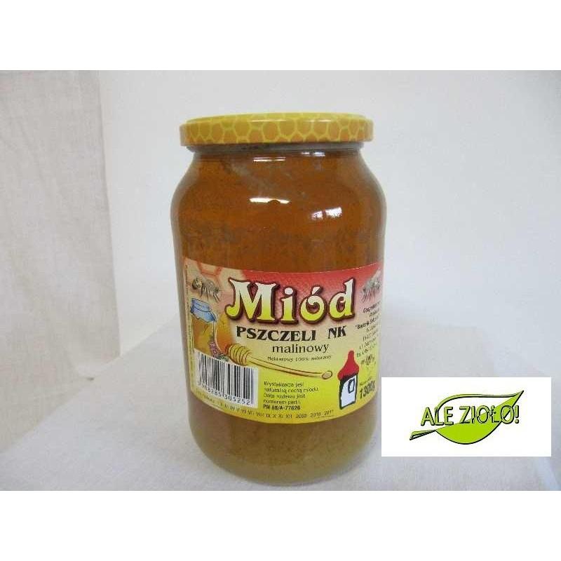 Miód pszczeli NK malinowy 1300g