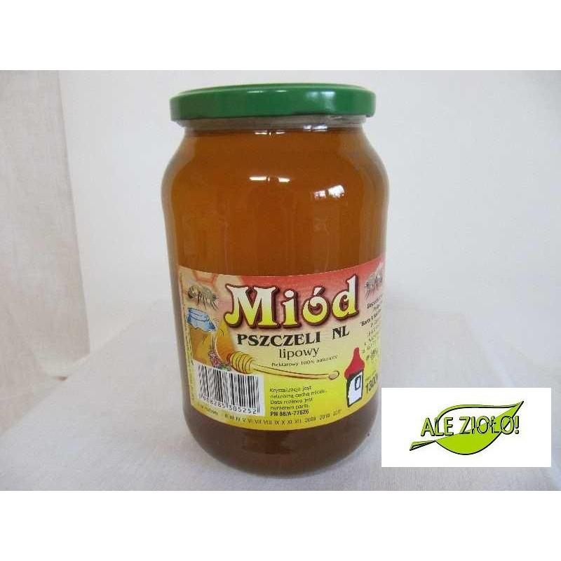 Miód pszczeli NL lipowy 1300g