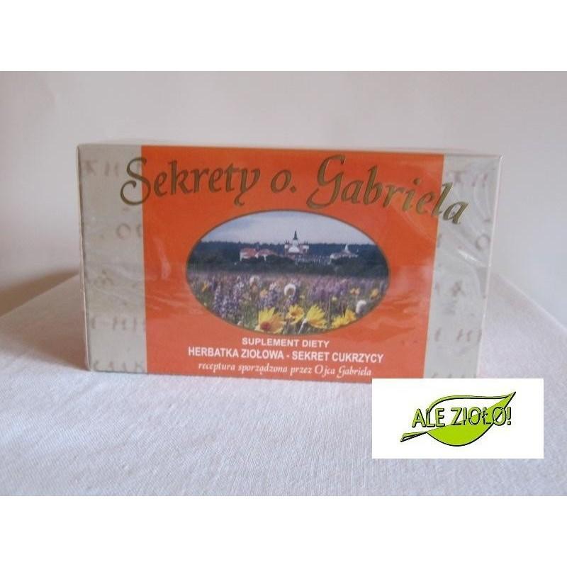 Herbatka o. Gabriela- Sekret cukrzycy