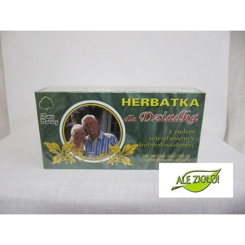 Herbatka Dla Dziadka z zielem wierzbownicy drobnokwiatowej