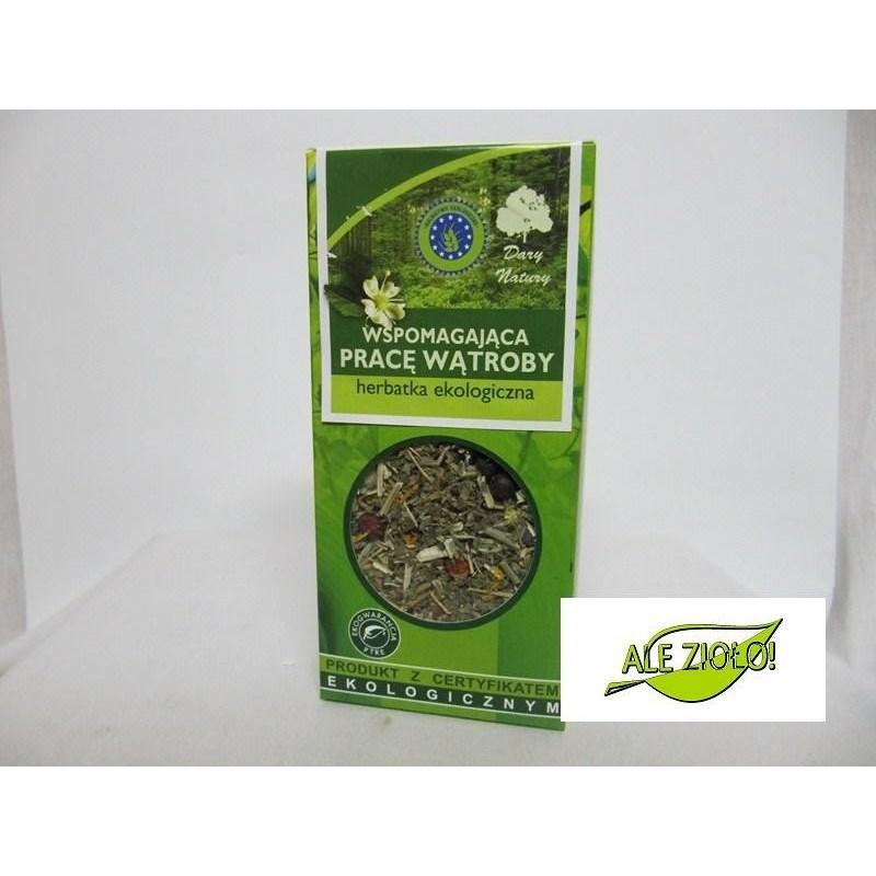 Herbatka ekologiczna na wątrobę