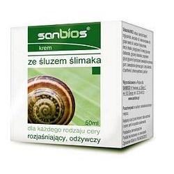 Krem ze śluzem ślimaka /Sanbios/