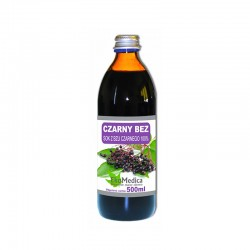 Czarny bez - sok z czarnego bzu
