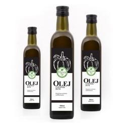 """Olej z pestek dyni - """"Olejowy Raj"""""""