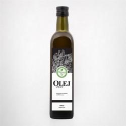 """Olej Lniany 1l - """"Olejowy Raj"""""""