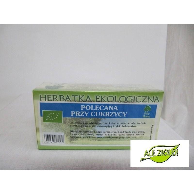 POLECANA PRZY CUKRZYCY herbatka ekologiczna FIX