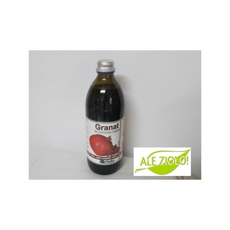 Granat- naturalny sok na prostatę