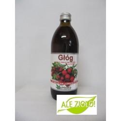 Głóg- naturalny sok na serce