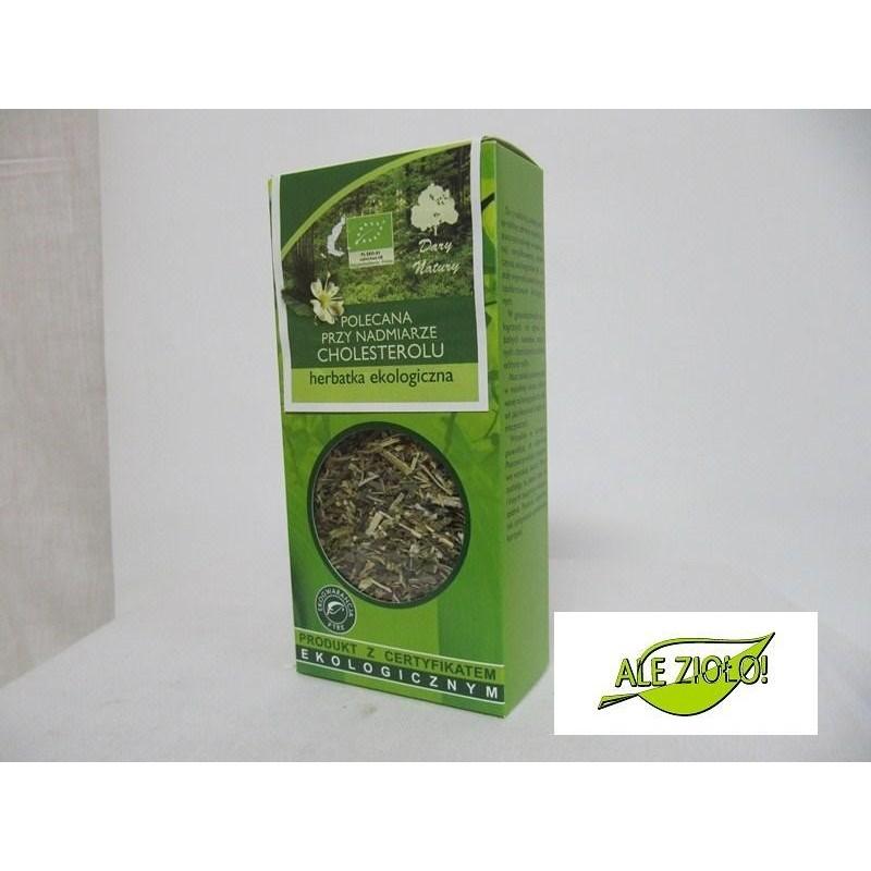 Herbatka ekologiczna na cholesterol
