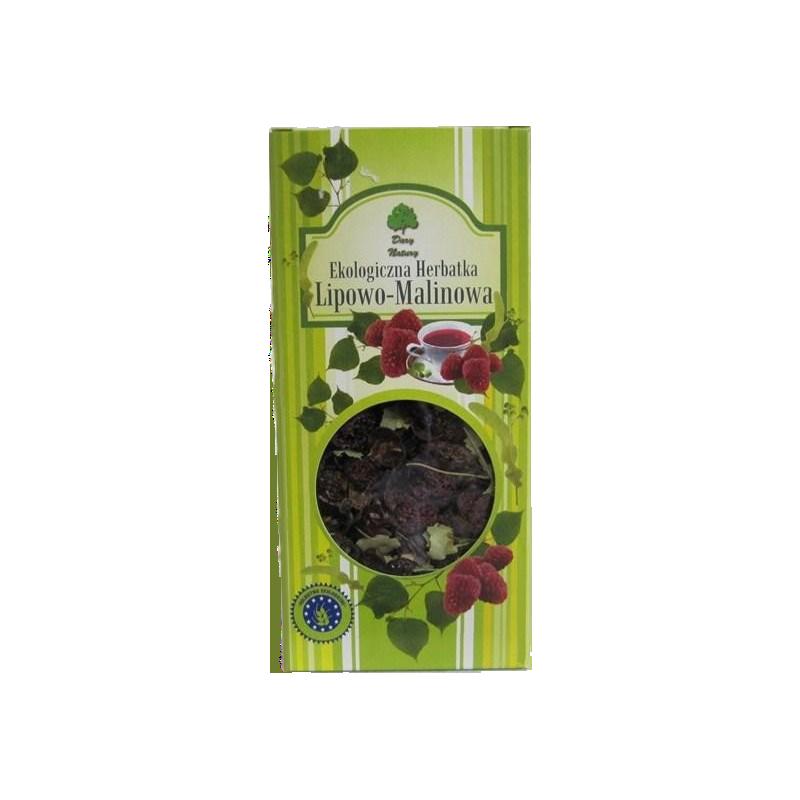 Ekologiczna Herbatka Lipowo-Malinowa