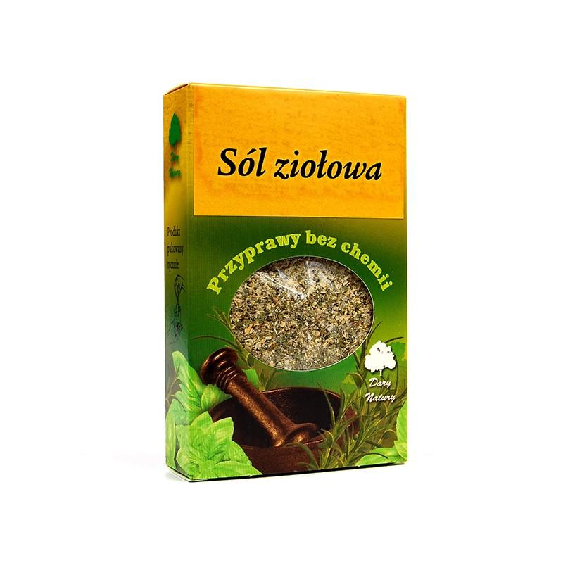 Sól ziołowa - ekologiczna przyprawa