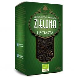 Zielona herbata liściasta z...