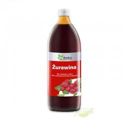 Żurawina 1l - naturalny sok na drogi moczowe