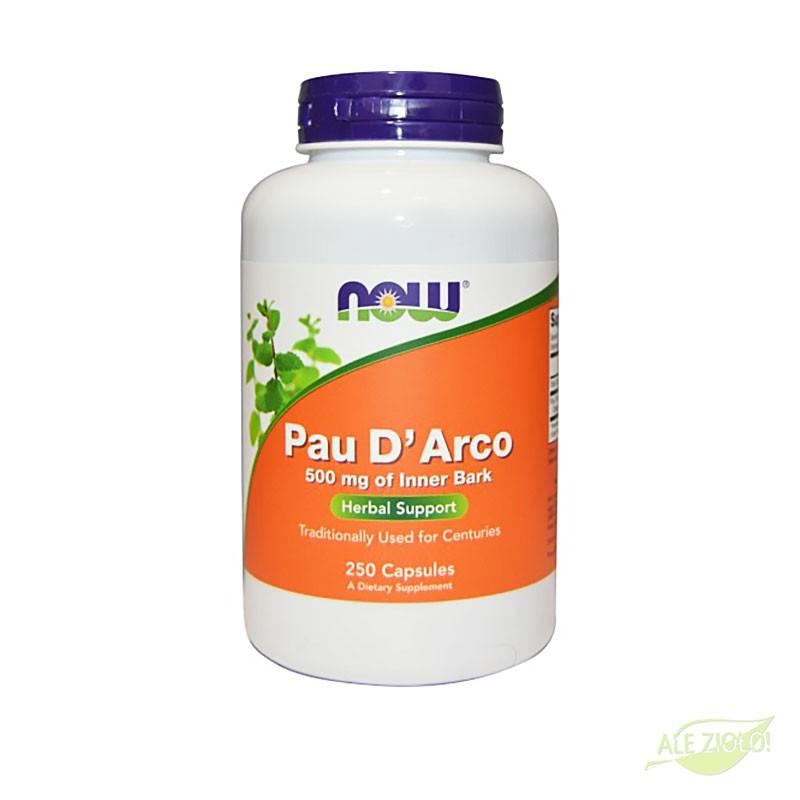 Pau D'Arco 500mg / 250 kapsułek
