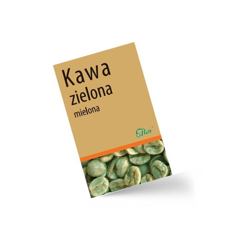 Brazylijska zielona kawa mielona Flos