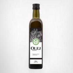 """Olej Lniany 0.5l - """"Olejowy Raj"""""""